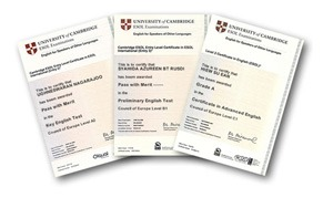 Certificados Cambridge